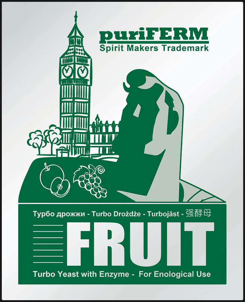 Дрожжи Puriferm Fruit Turbo, 50 г