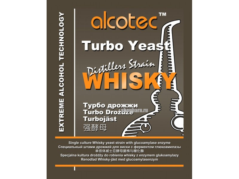 Турбо дрожжи Alcotec Whisky Turbo w/GA